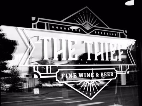 Thief - Store signage