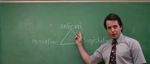 Election movie chalkboard