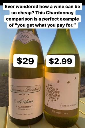 Chardonnay comparison