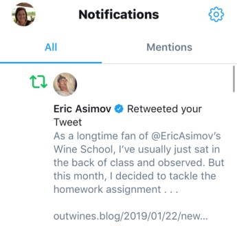 Eric Asimov retweet