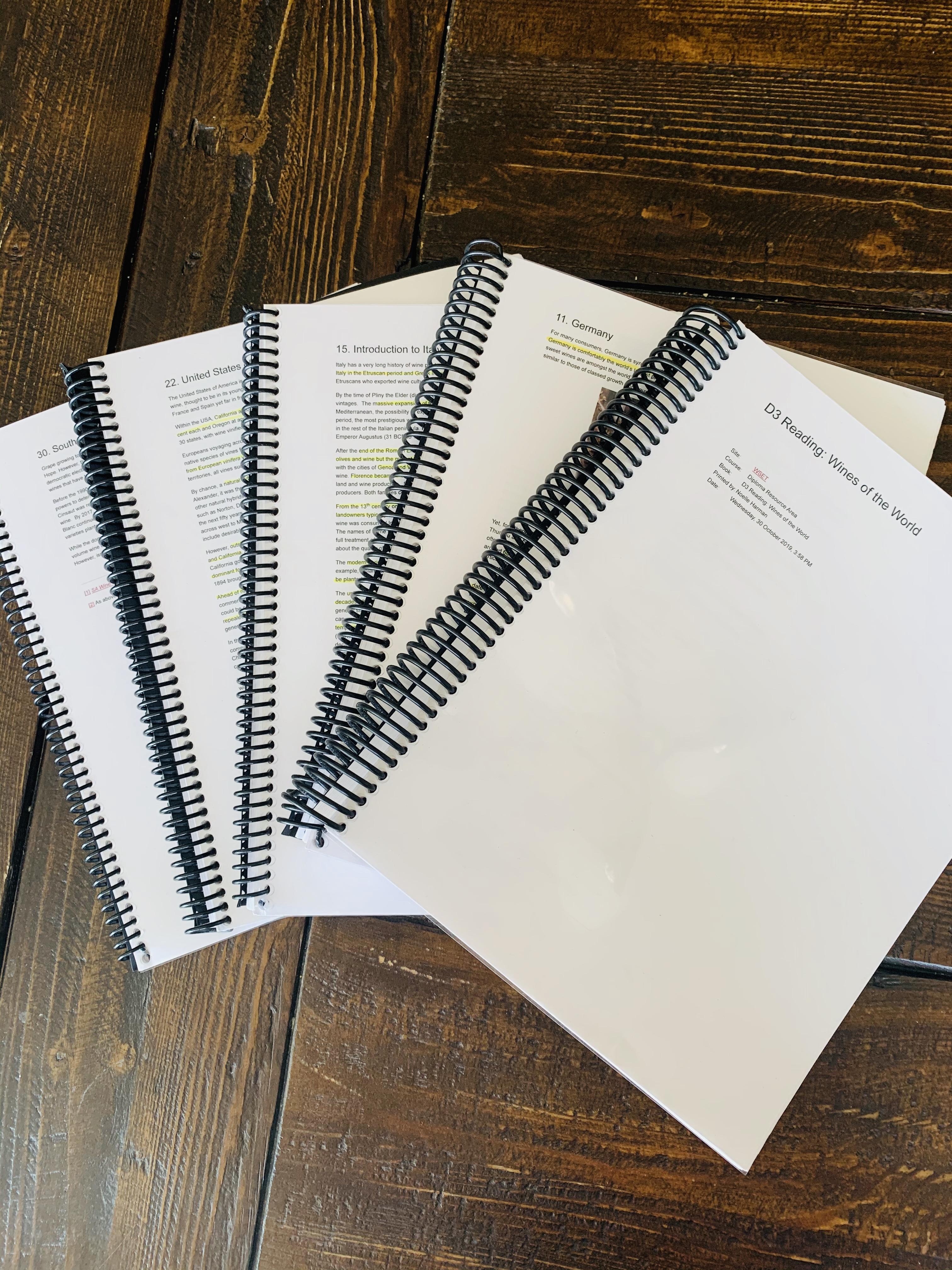 WSET Diploma D3 Textbooks
